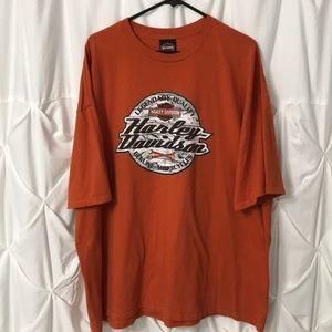 Harley Davidson Dual Sided Tee Men's Size 3X
